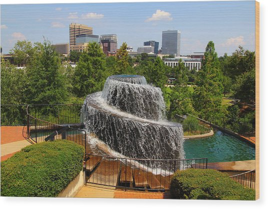 Finlay Park Columbia South Carolina Wood Print