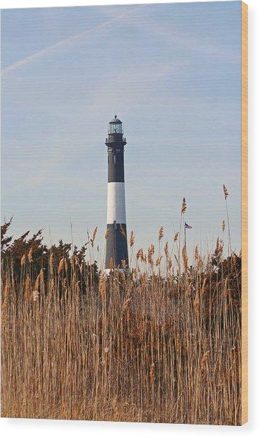 Fire Island Tower Wood Print