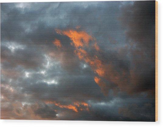 Fire Light Wood Print