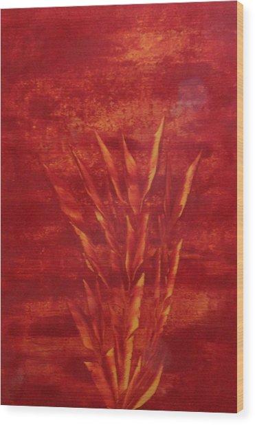 Fire Wood Print by Nico Bielow