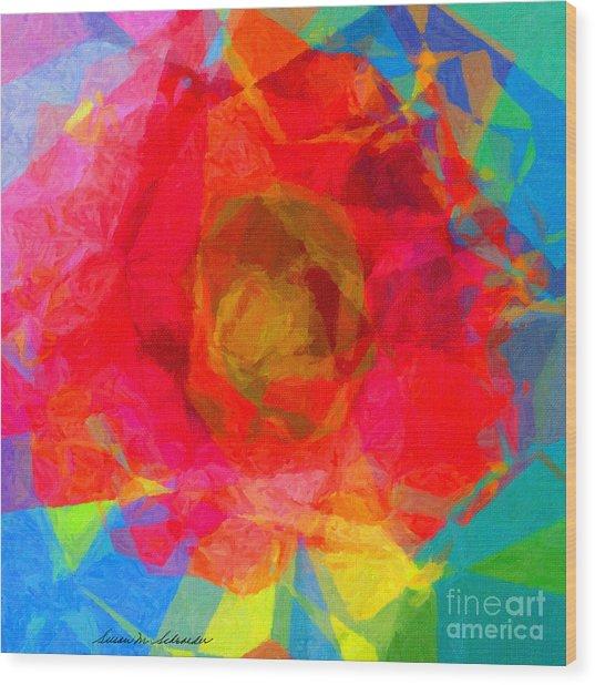Firewheel - Gaillardia Pulchella Wood Print