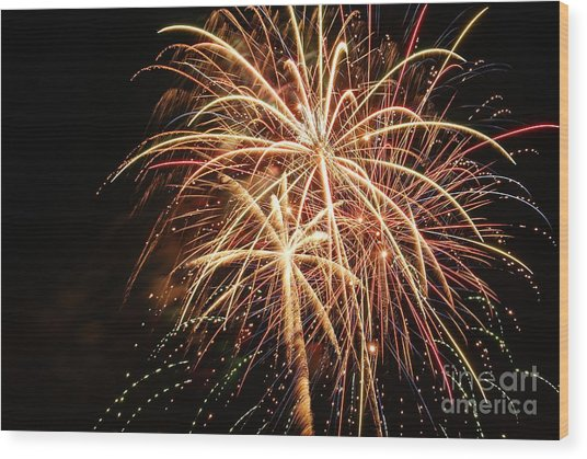 The 4th Of July Wood Print by Manda Renee