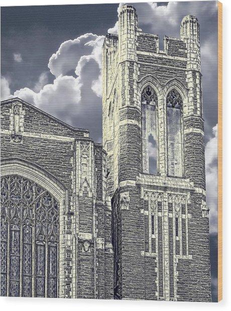 First Congregational Wood Print