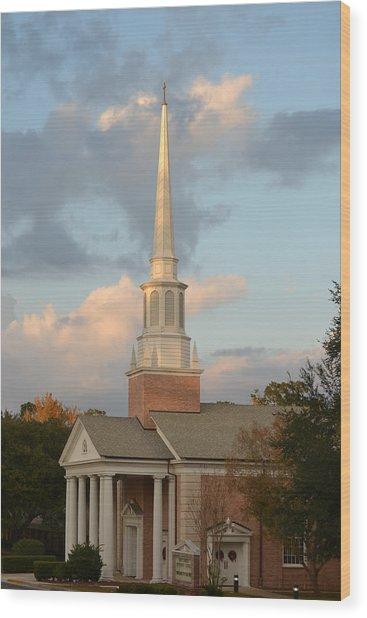 First United Methodist Church Lake City Florida Wood Print