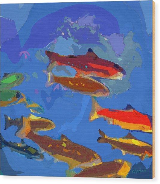 Fish 1 Wood Print