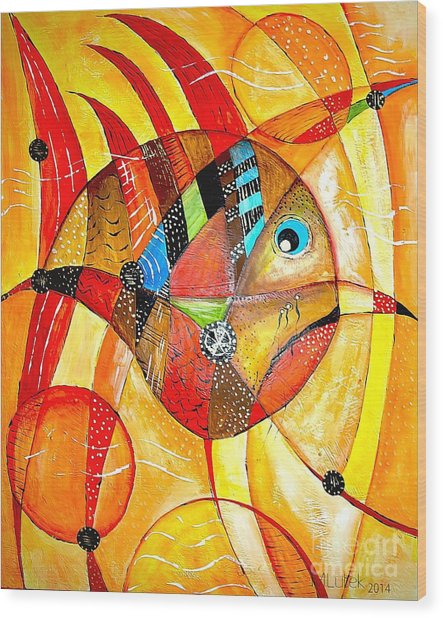 Fish 716-14 Marucii Wood Print
