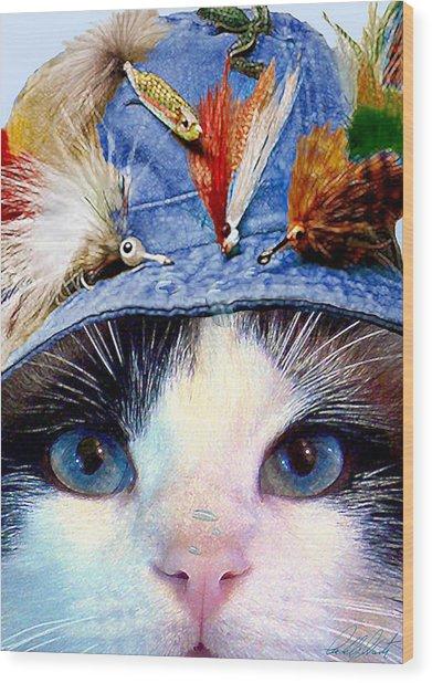 Fisher Cat Wood Print