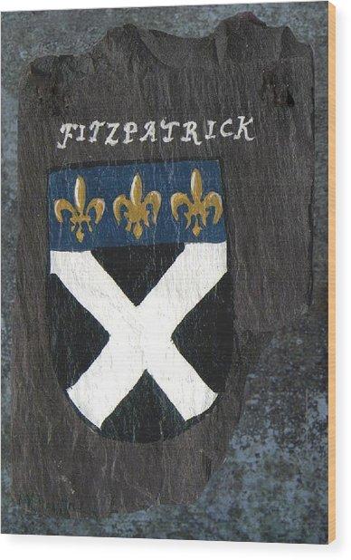 Fitzpatrick Wood Print