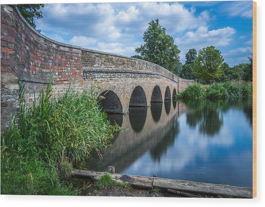 Five Arches Bridge. Wood Print