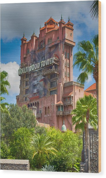 Five Star Hotel - Full Color Wood Print