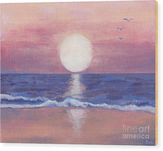 Flagler Beach Dream Wood Print