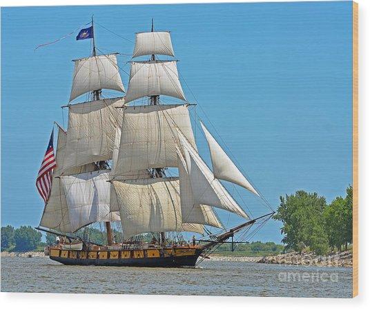 Flagship Niagara Wood Print