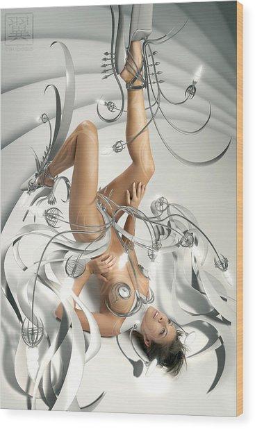 Flap Wood Print by Tsubasa Art