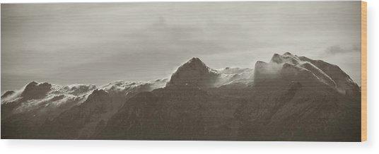 flawy mount peak I Wood Print