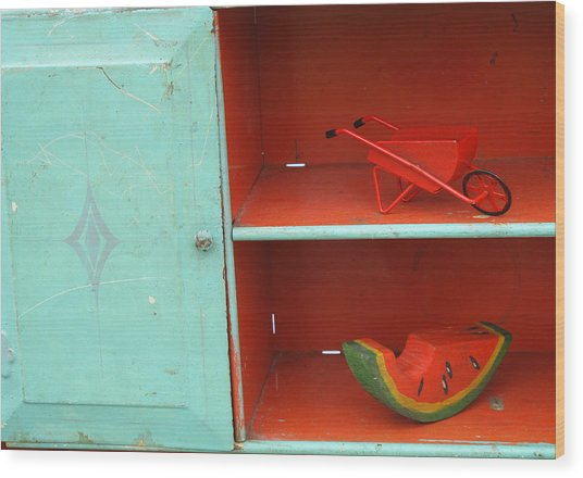 Flea Market Find Wood Print