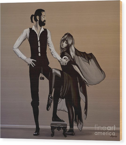 Fleetwood Mac Rumours Wood Print
