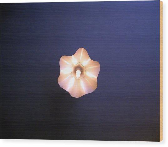 Fleur De La Fee Electricite Wood Print