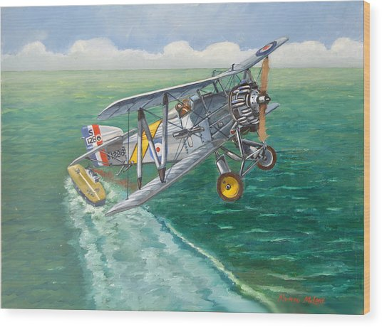 Flight Of The Flycatcher 2 Wood Print