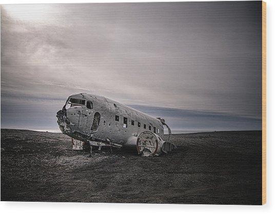 Flightless Wood Print