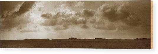 Flint Hills Panorama Wood Print