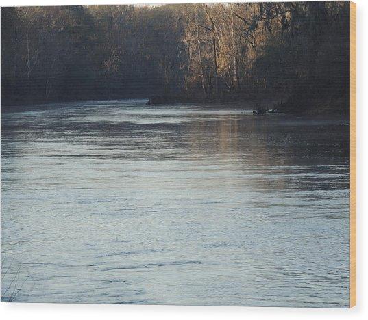 Flint River 31 Wood Print