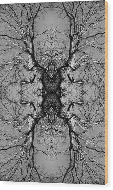Tree No. 3 Wood Print