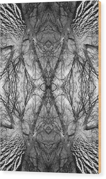 Tree No. 7 Wood Print