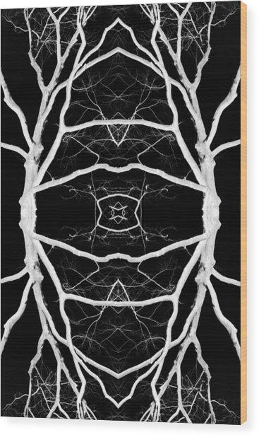 Tree No. 8 Wood Print