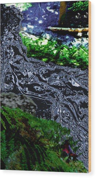 Flo Wood Print