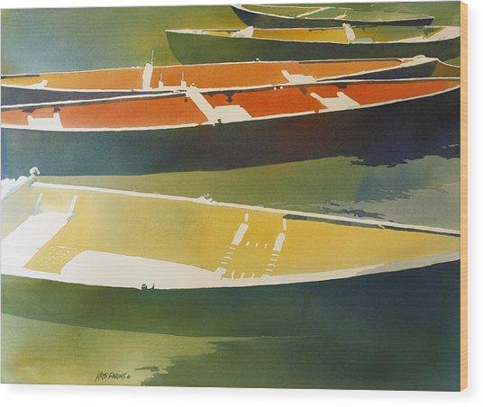 Floaters Wood Print