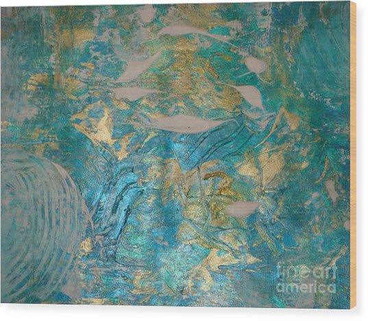 Floating II Wood Print
