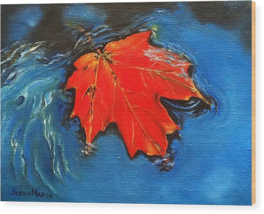 Floating Maple Reference Wood Print