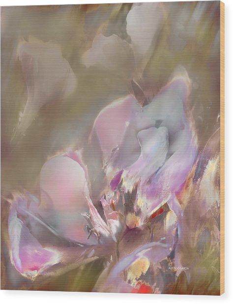Flor De Verano Wood Print