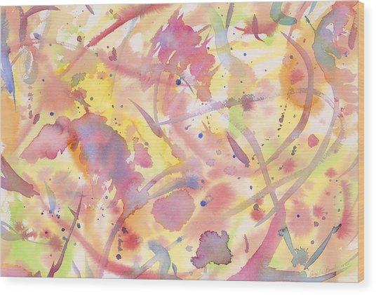 Floral Heaven Wood Print