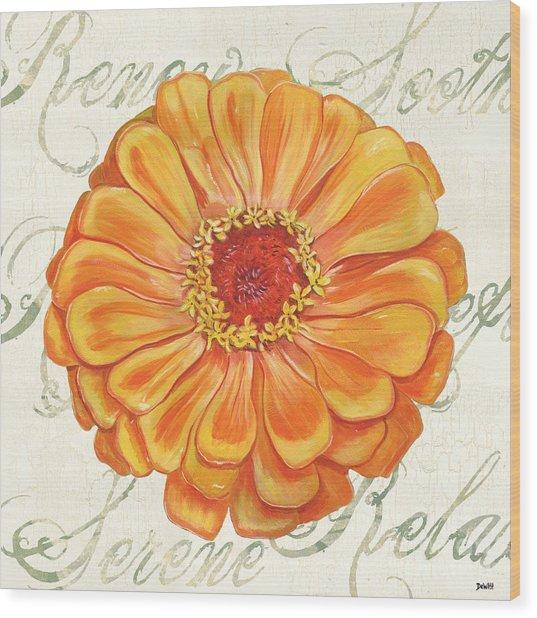 Floral Inspiration 2 Wood Print