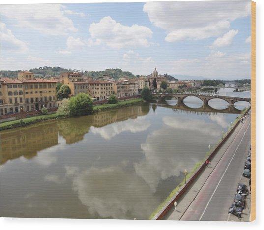 Florence In Springtime Wood Print
