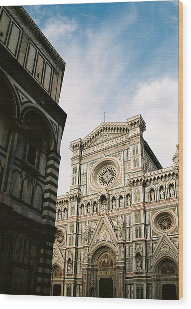 Florentine Architecture Wood Print by Michael  Cryer