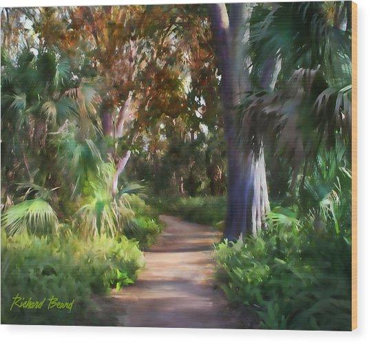 Florida Forest Wood Print