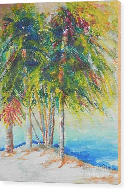 Florida Inspiration  Wood Print