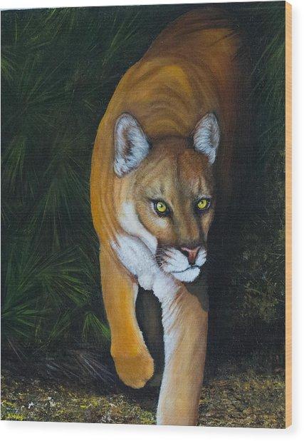 Florida Native Wood Print