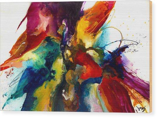 Flourish IIi Wood Print