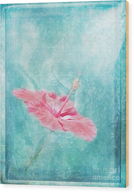 Flower Dancer Wood Print