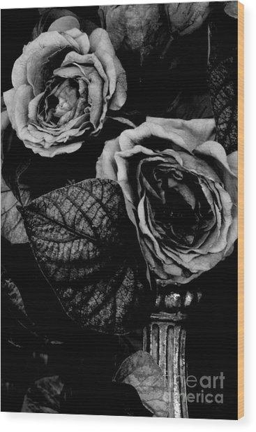 Flower Is Woman Wood Print