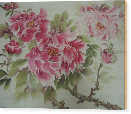 Flower0725-3 Wood Print
