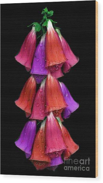 Flowers 35 Wood Print