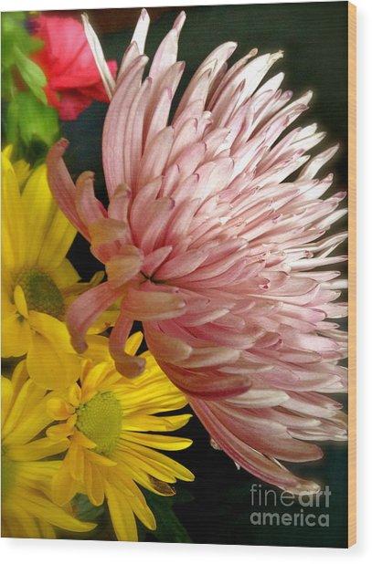 Flowers3 Wood Print