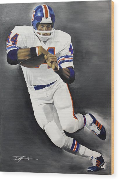 Floyd Little Wood Print