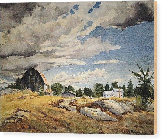 Floyd's Barn No. 2 Wood Print
