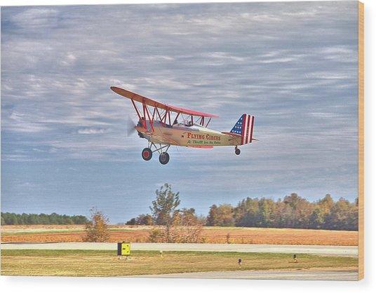 Flying Circus Barnstormers Wood Print