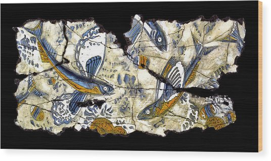 Flying Fish No. 3 Wood Print